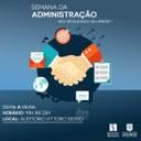 Curso de Administração realiza XXVII Semana Acadêmica