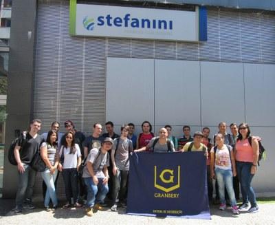 Alunos de Sistemas de Informações visitam multinacional em Belo Horizonte