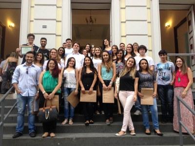 Alunos do curso de Direito visitam Câmara Municipal de Juiz de Fora