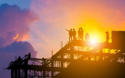 Construção civil cresce em 2019