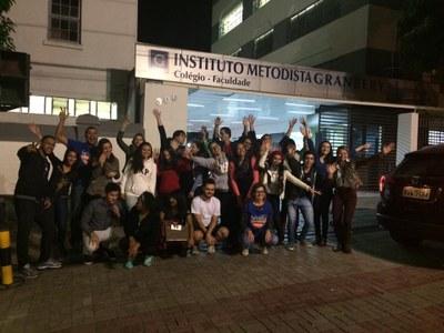 Campanha de inverno mobiliza estudantes de Administração