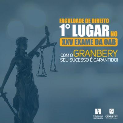 Curso de direito conquista o 1º lugar no XXV Exame da OAB