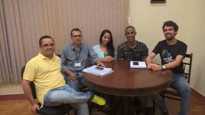 Diretor da Faculdade se reúne com representantes da diretoria metodistas de jovens