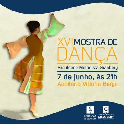 """""""Brasilidades"""" e """"Desenhos animados"""" são temas da XVI Mostra de Dança"""