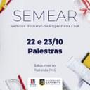 """Curso de Engenharia Civil abordará o tema """"Gestão e Execução de Obras"""" na SEMEAR"""