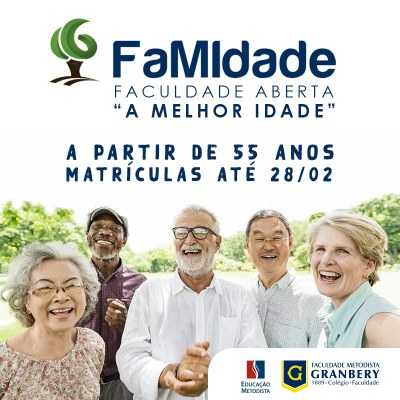 FaMIdade abre período para matrículas 2020
