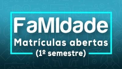 FaMIdade abre período para matrículas do 1º semestre de 2021