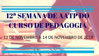 Ação será realizada com oficinas e projetos de alunos de pedagogia entre os dias 12 e 14/11