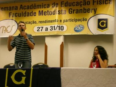 ABERTURA DA SEMANA ACADÊMICA DE EDUCAÇÃO FÍSICA