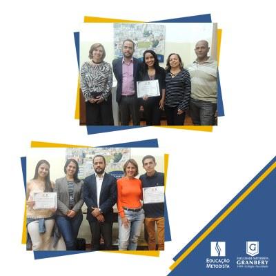 Alunos destaques no Vestibular recebem certificados do Programa Meritocracia