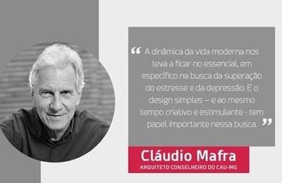 Curso de Arquitetura e Urbanismo promove palestra sobre o futuro da área, com Cláudio Mafra
