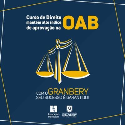 Curso de Direito mantém alto índice de aprovação na OAB