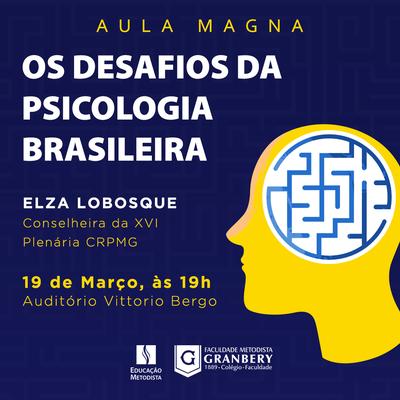 Curso de Psicologia promove Aula Magna na próxima semana