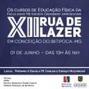 Cursos de Educação Física promovem a XII Rua de Lazer