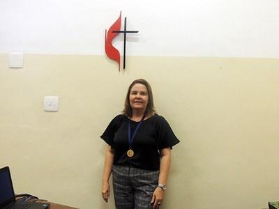 Diretora do Granbery toma posse de cadeira na AGLAC