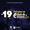 Faculdade Metodista Granbery tem seis cursos estrelados no Guia do Estudante 2018
