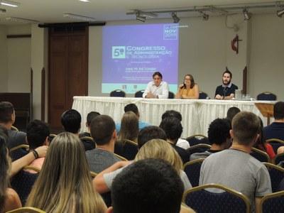 Faculdade promove 5ª edição do Congresso de Administração e Tecnologia (CAT)