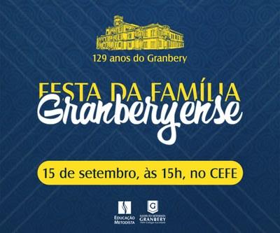 Festa da Família será realizada neste sábado