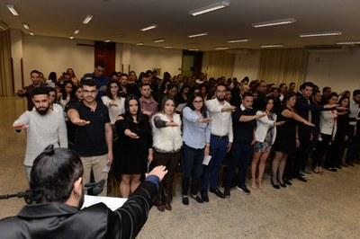Formandos 2019.1 colam grau no Auditório Vittorio Bergo