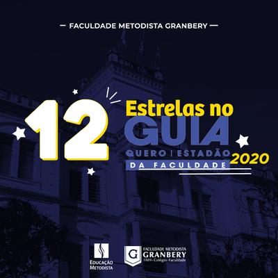 Granbery tem quatro cursos estrelados no Guia da Faculdade 2020