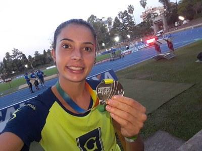 Granberyense  é bicampeã no Brasileiro de atletismo sub 23