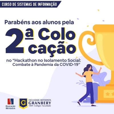 Granberyenses conquistam 2º lugar no Hackathon – UFF