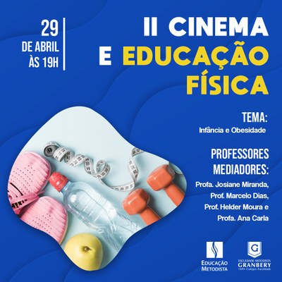 II Cinema e Educação Física será na próxima semana