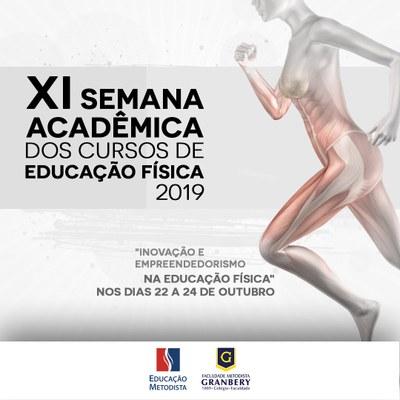 XI Semana Acadêmica de Educação Física debate Inovação e Empreendedorismo