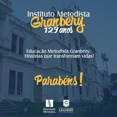 Instituto Metodista Granbery celebra 129 anos de história