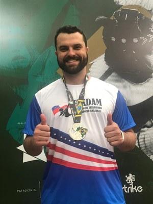 Professor da FMG é vice-campeão nacional de Taekwondo