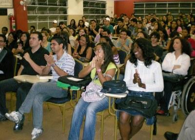 RECEPÇÃO DOS CALOUROS 2º SEMESTRE DE 2009 DA FMG