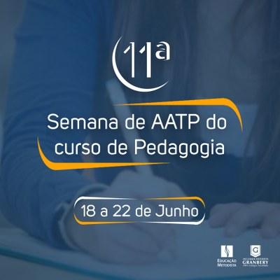 11ª Semana de AATP será realizada entre os dias 18 e 22 de junho