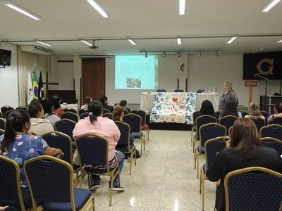 Curso de Pedagogia proporciona oficina aos alunos do Magistério