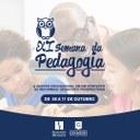 Semana da Pedagogia inicia na próxima segunda